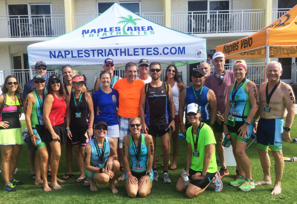 Naples Area Triathlete athletes at the Naples Fitness Challenge 2018